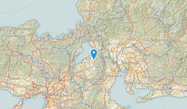 Shiga, Japan Map