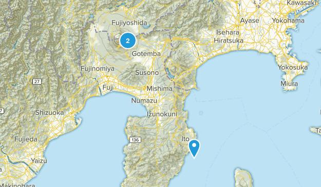 Shizuoka, Japan Map