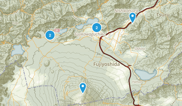 Best Trails In Yamanashi Photos Reviews AllTrails - Japan map yamanashi