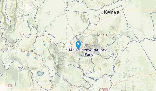 Central, Kenya Map