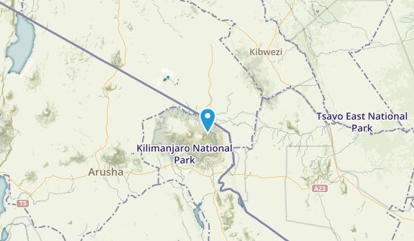 Rift Valley, Kenya Map