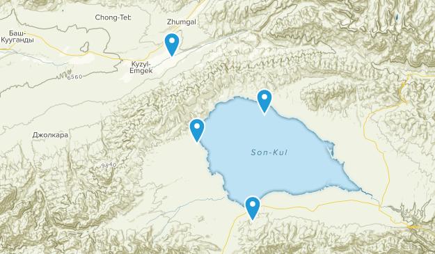 Naryn, Kyrgyzstan Map