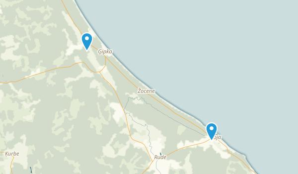Rojas Novads, Latvia Map