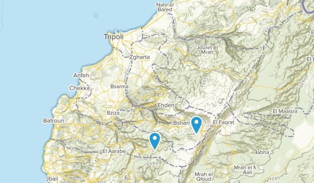 North Lebanon, Lebanon Cities Map