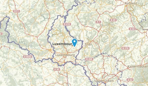 Grevenmacher, Luxembourg Map