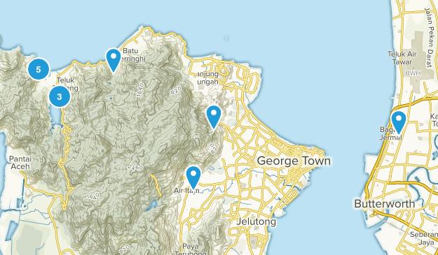 Pulau Pinang, Malaysia Map