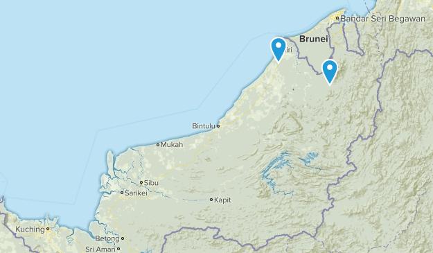 Sarawak, Malaysia Map