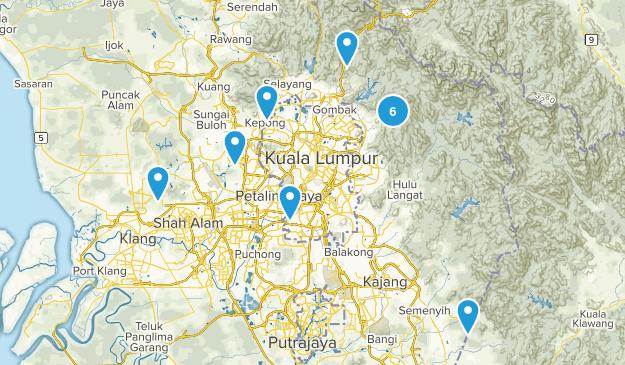 Selangor, Malaysia Cities Map