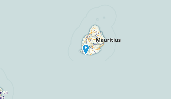Savanne, Mauritius Map