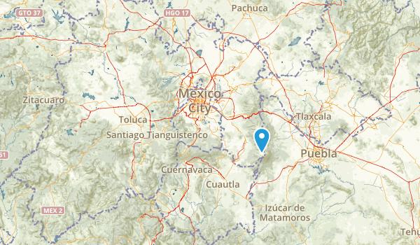 Mл╘xico, Mexico Map