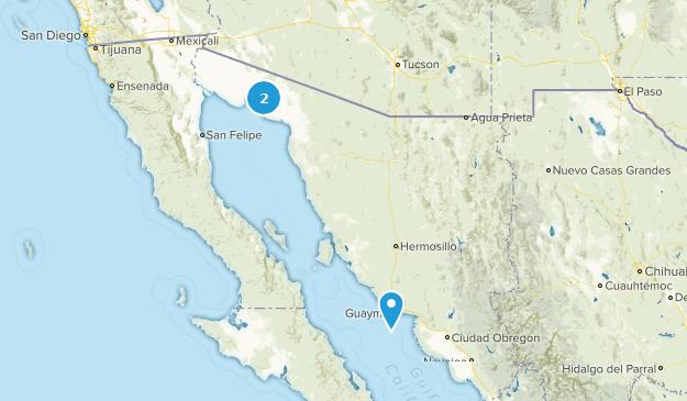 Sonora, Mexico Map