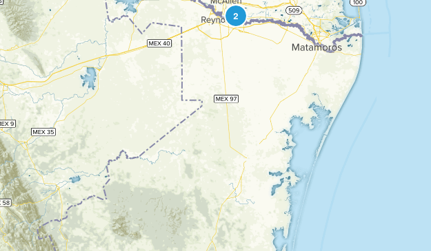 Tamaulipas, Mexico Map