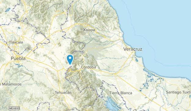 Veracruz de Ignacio de la Llave, Mexico Map