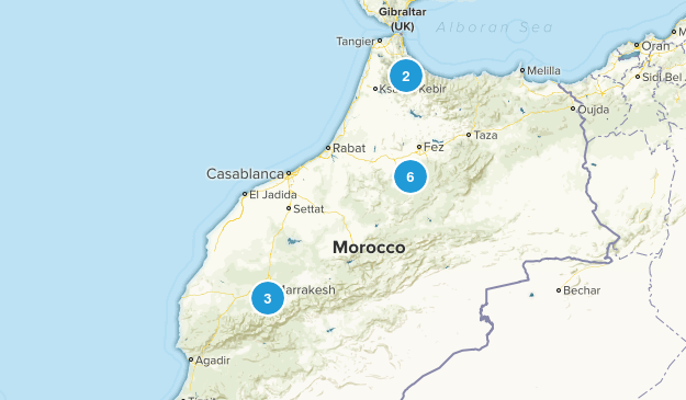 Marrakech - Tensift - Al Haouz, Morocco Map