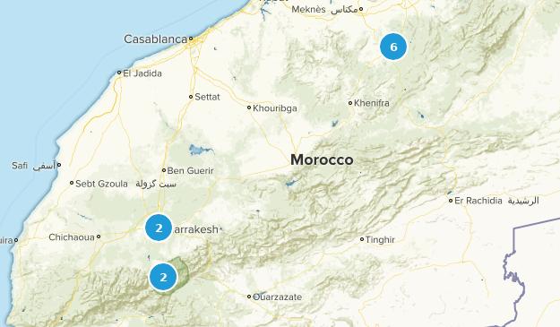 Best Cities in Marrakesh-Tensift-El Haouz, Morocco | AllTrails