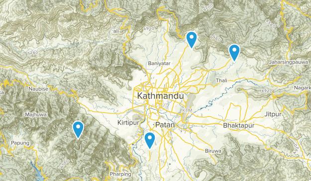 Bagmati, Nepal Map