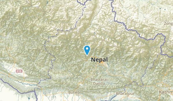 Dhawalagiri, Nepal Map