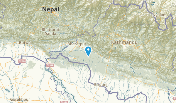 Narayani, Nepal Map