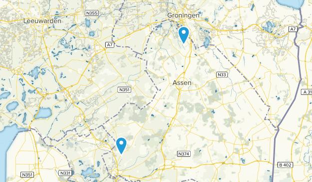 Drenthe, Netherlands Cities Map