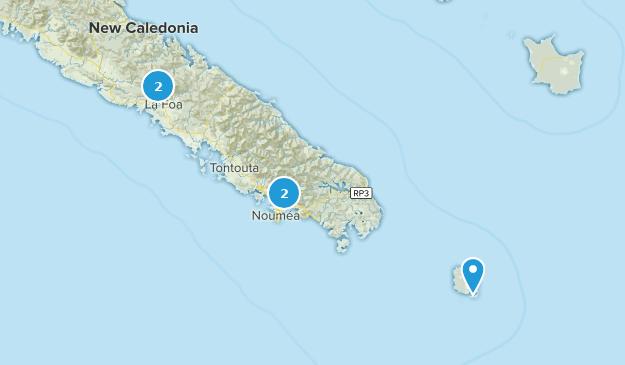 Sud, New Caledonia Map
