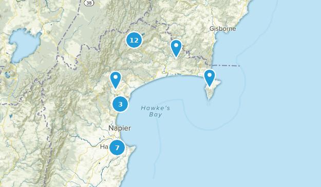 Napier New Zealand Map.Best Trails In Hawke S Bay New Zealand Alltrails