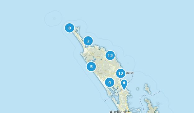 Northland, New Zealand Cities Map
