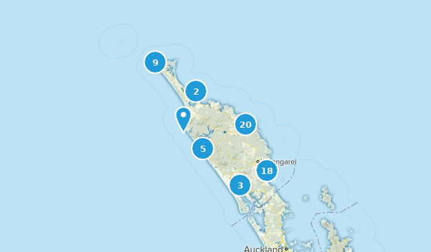 Northland New Zealand Map.Best Trails In Northland New Zealand Alltrails