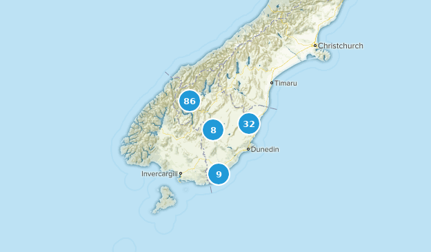 Otago, New Zealand Map
