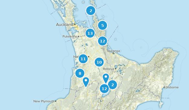 New Zealand Cities Map.Best Cities In Waikato New Zealand Alltrails
