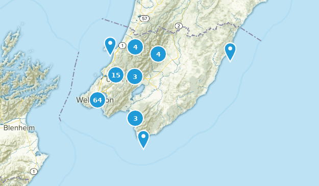 Where Is Wellington New Zealand On The Map.Best Trails In Wellington New Zealand Alltrails