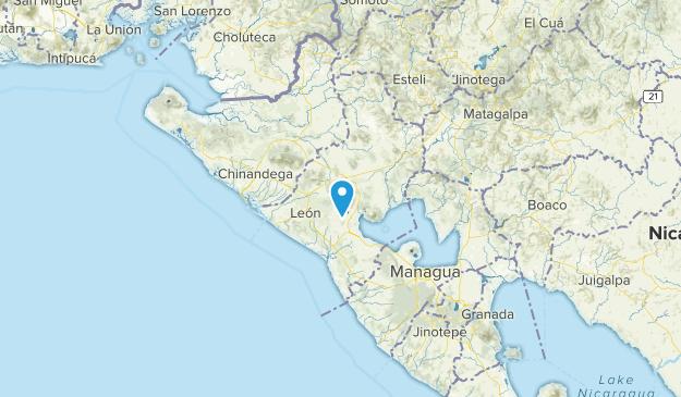 León, Nicaragua Map