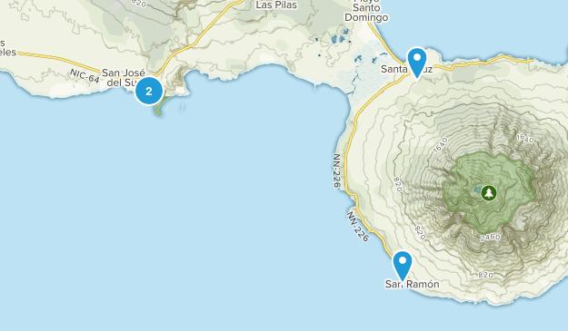 Rivas, Nicaragua Map