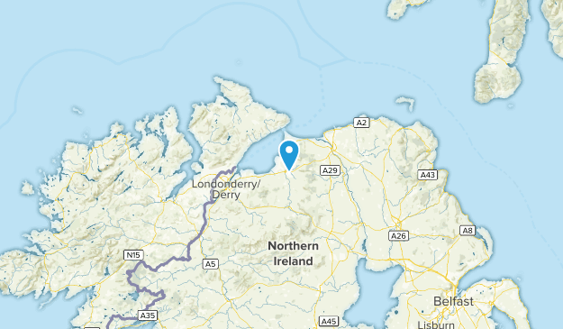 Limavady, Northern Ireland Cities Map