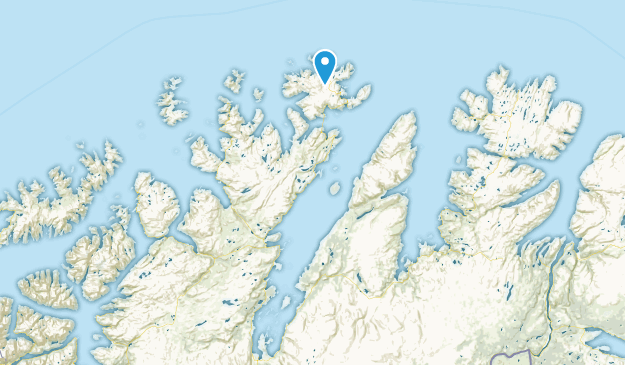 Finnmark, Norway Map