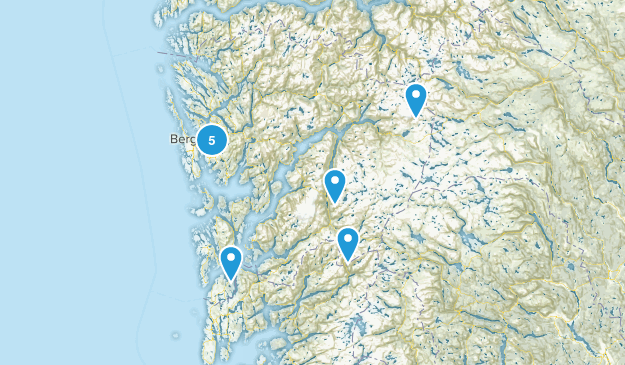 Hordaland, Norway Map