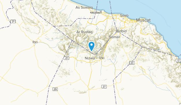 Ad-Dachiliyya, Oman Map