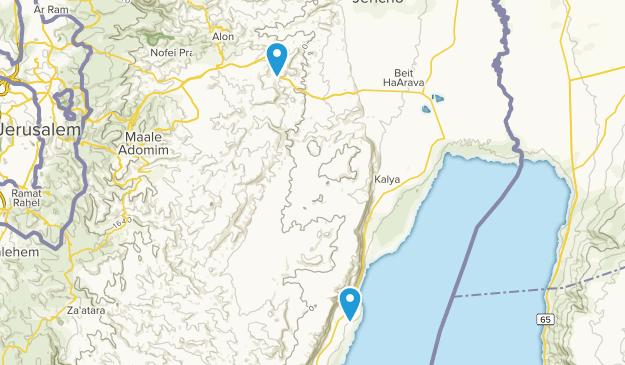 Jericho, Palestine Cities Map