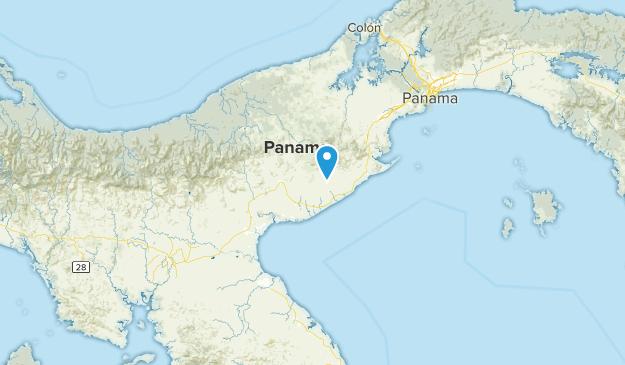 Coclé, Panama Cities Map