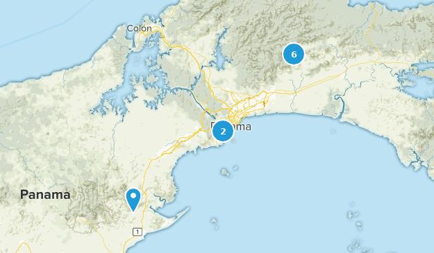 Panama-Stadt, Panama Map
