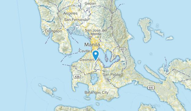 Muntinlupa, Philippines Map