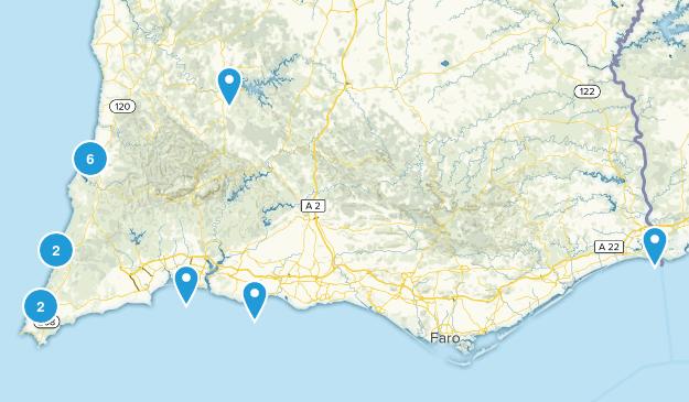 Faro, Portugal Map