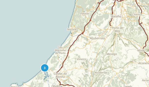 Leiria, Portugal Map