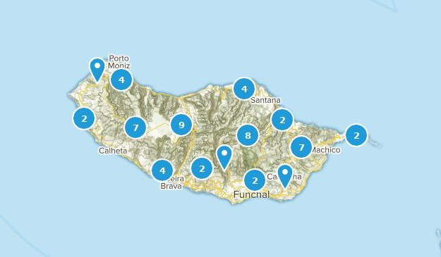 Madeira, Portugal Map