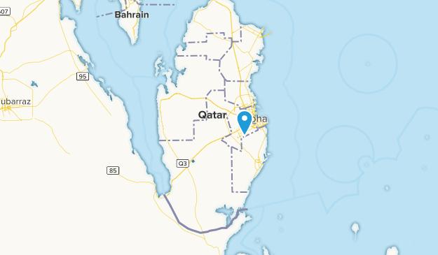 Ar Rayyān, Qatar Map