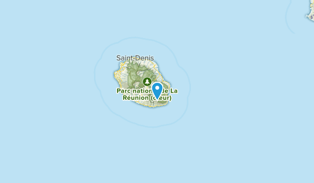 La Réunion, Reunion Map