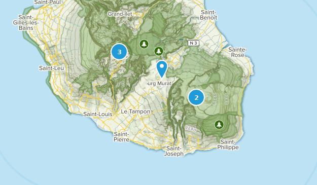 Saint-Pierre, Reunion Cities Map