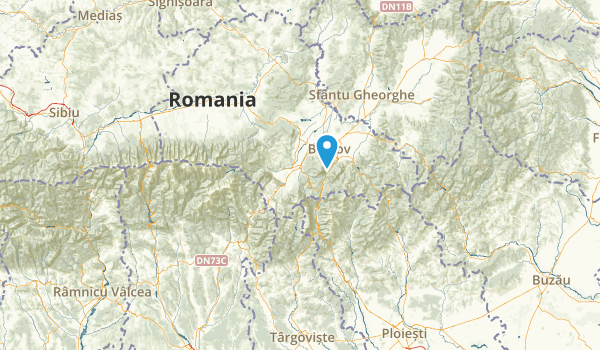 Braşov, Romania Map