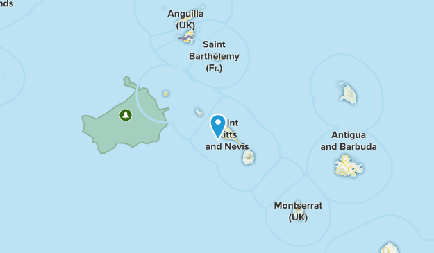 Saint Paul Capesterre, Saint Kitts and Nevis Cities Map