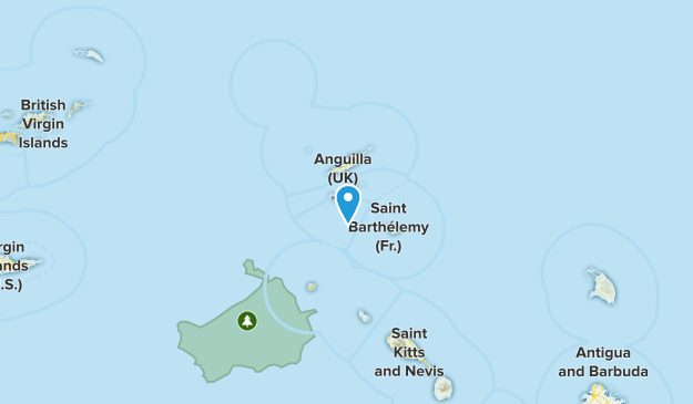 Dutch Saint Martin, Saint Martin Map