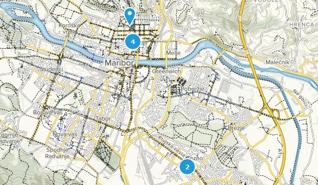 Maribor, Slovenia Map